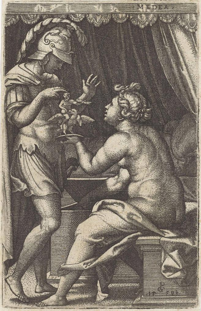Georg Pencz-Medea And Jason-1539