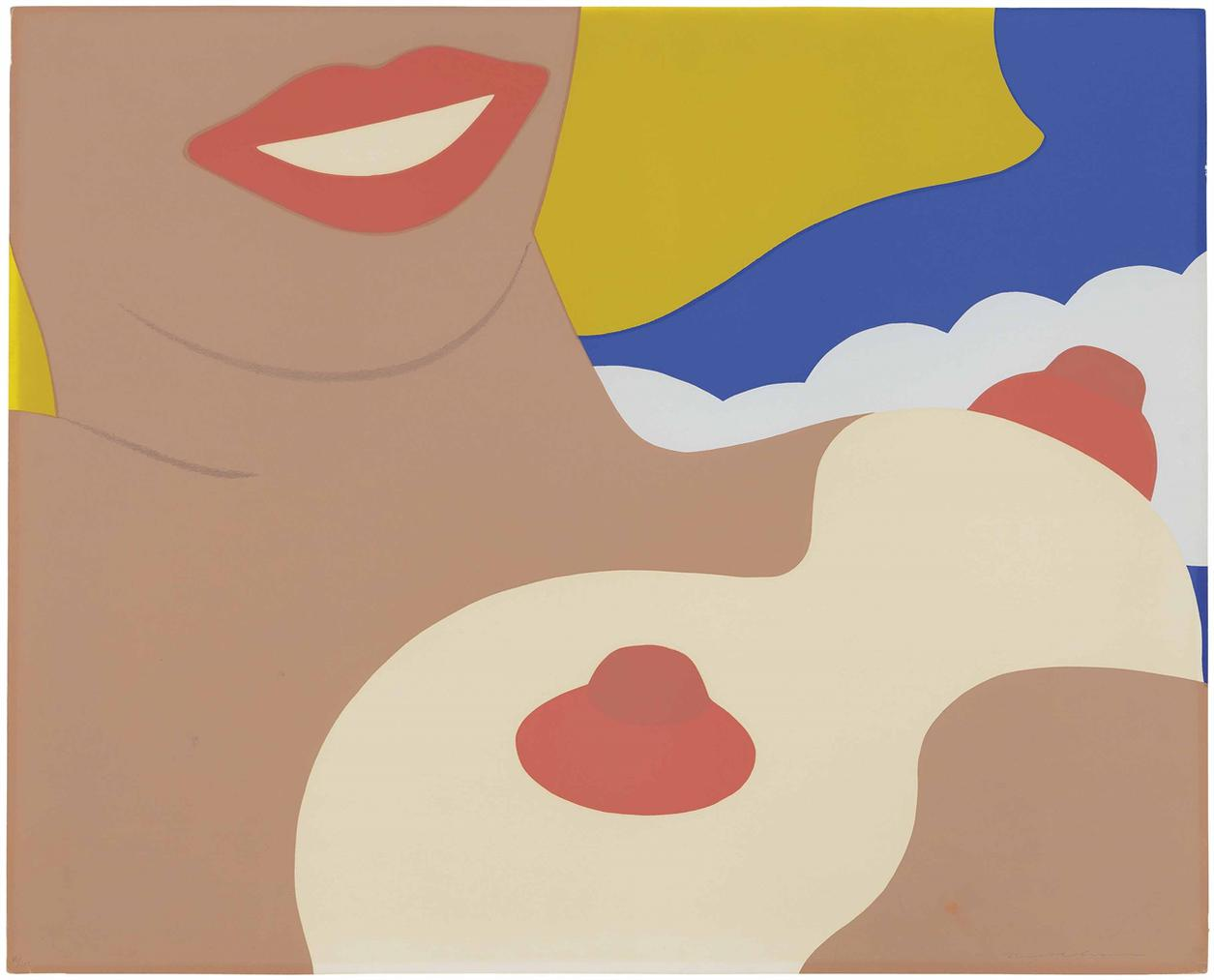 Tom Wesselmann-Nude, From: 11 Pop Artists, Volume Ii-1971