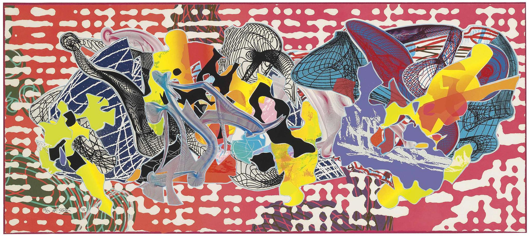 Frank Stella-Libertina, From: Imaginary Places-1995