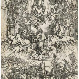 Albrecht Durer-Saint John Before God And The Elders, From: The Apocalypse-1496