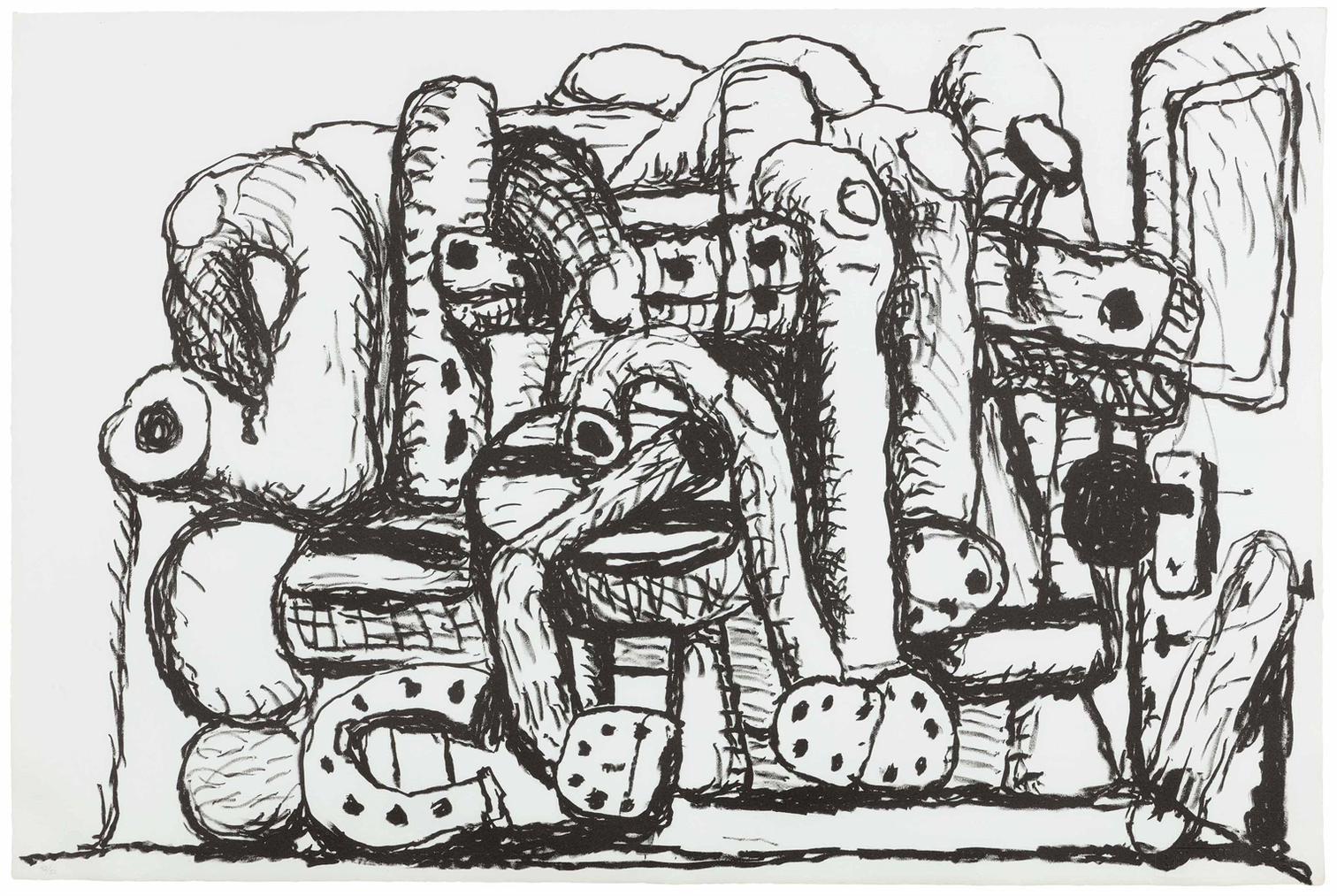 Philip Guston-Pile Up-1980