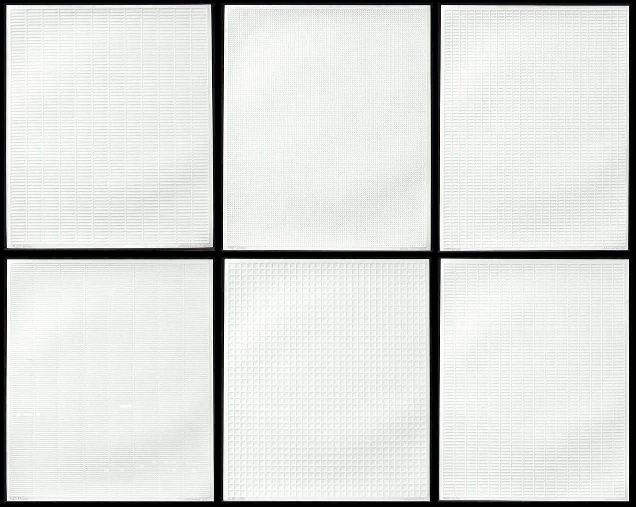 Jan Schoonhoven-Gepragte Strukturen-1972