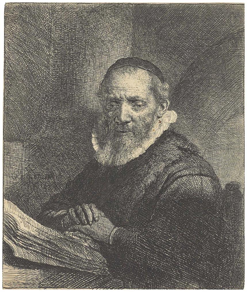 Rembrandt van Rijn-Jan Cornelis Sylvius-1633