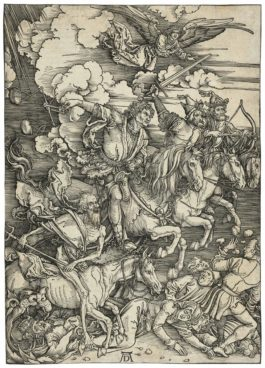 Albrecht Durer-The Four Horsemen Of The Apocalypse, From: The Apocalypse-1498