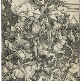 Albrecht Durer-The Four Horsemen Of The Apocalypse, From: The Apocalypse-1498