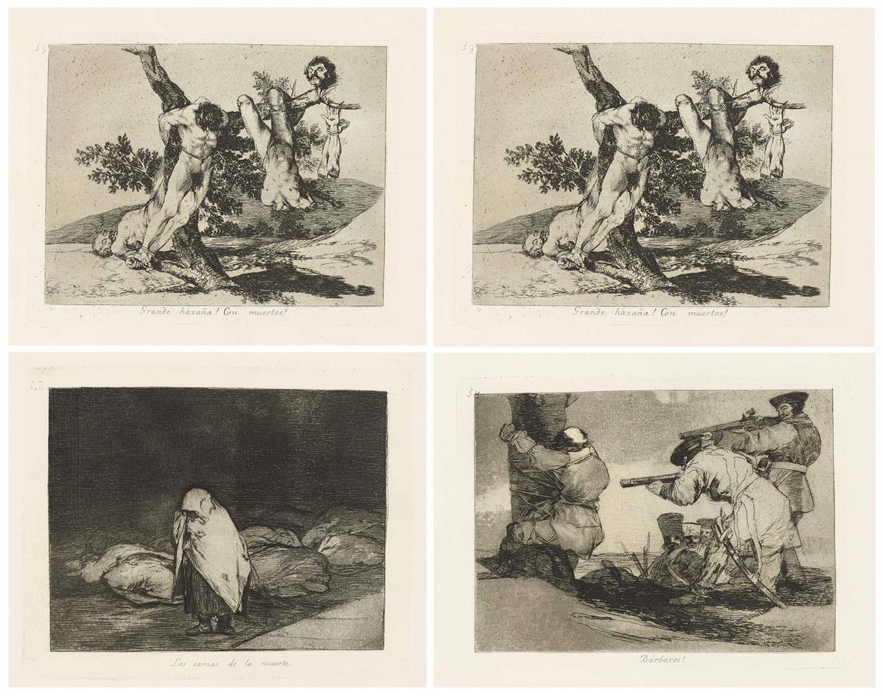 Los Desastres De La Guerra-1820