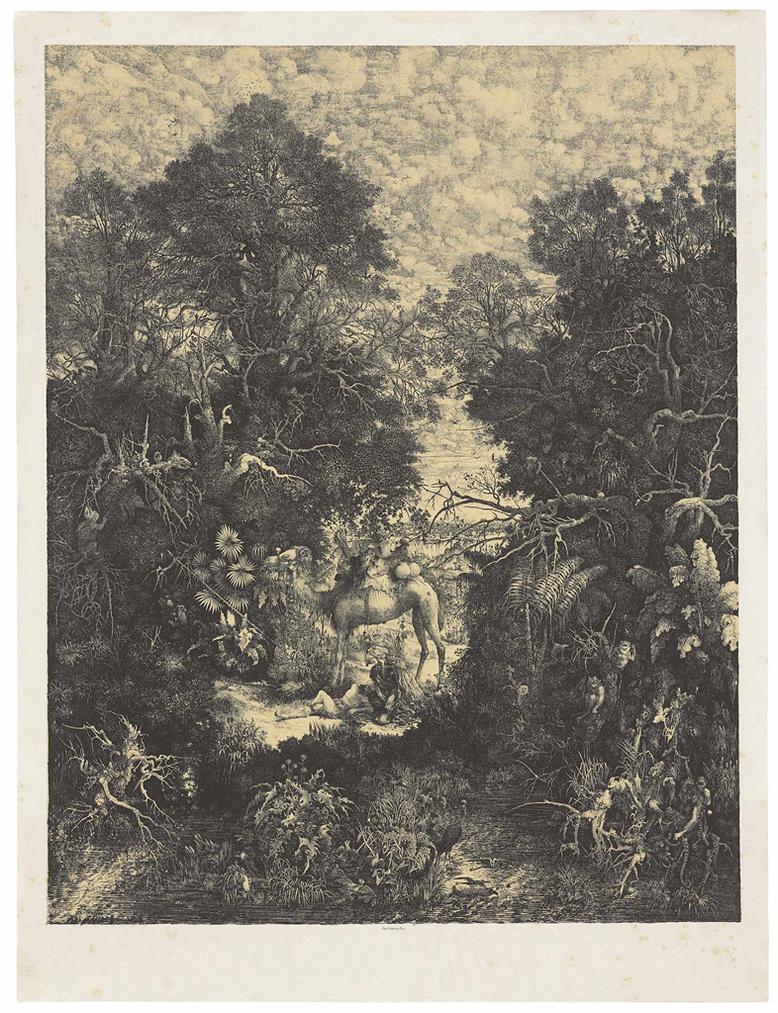 Rodolphe Bresdin-Le Bon Samaritain-1861