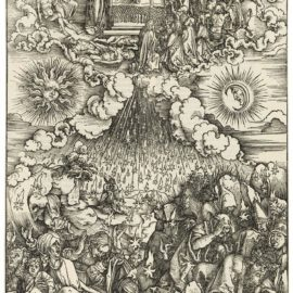 Albrecht Durer-The Opening Of The Fifth And Sixth Seal, From: The Apocalypse-1498