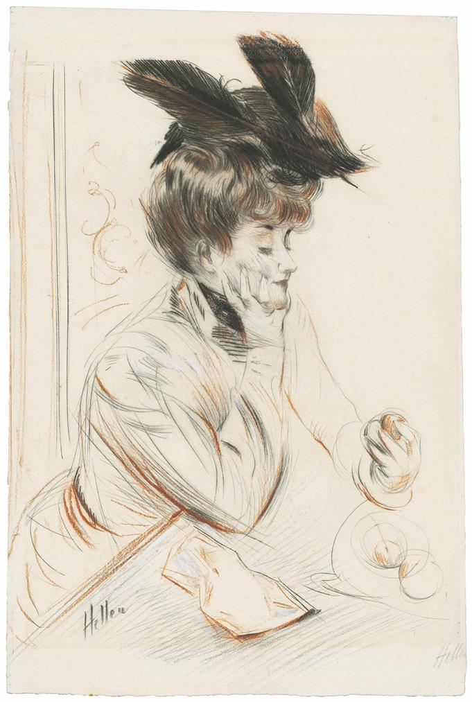 Paul Cesar Helleu-Eve-1895