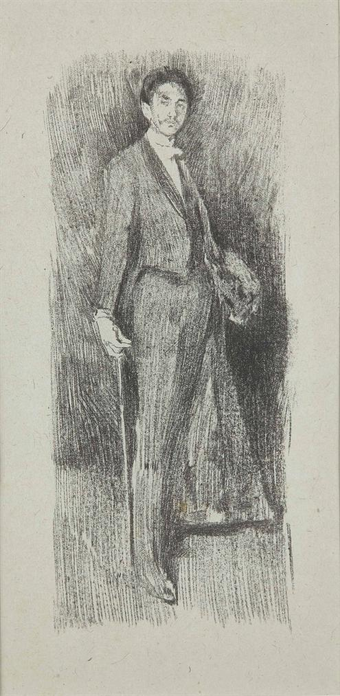 James Abbott McNeill Whistler-After James Abbott Mcneill Whistler - Count Robert De Montesquiou-1895