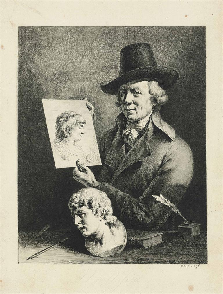 Jean-Jacques de Boissieu-Jean-Jacques De Boissieu, Portrait De Lauteur-1976