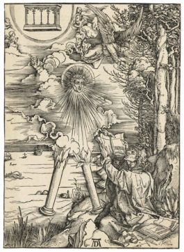 Albrecht Durer-Saint John Devouring The Book, From: The Apocalypse-1498