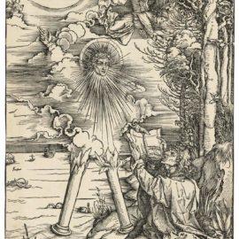 Albrecht Durer-Saint John Devouring The Book, From: The Apocalypse-1498
