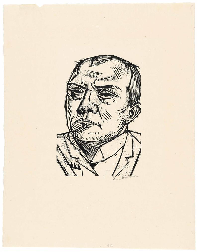 Max Beckmann-Selbstbildnis-1922