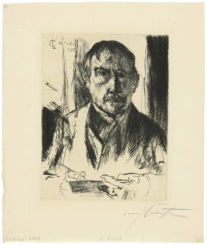 Lovis Corinth-Selbstbildnis (Self-Portrait)-1920