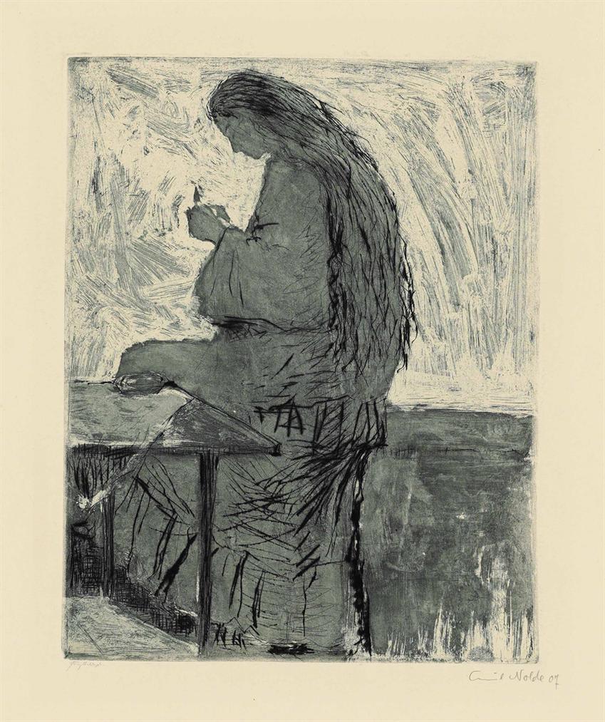 Emil Nolde-Am Morgen-1907