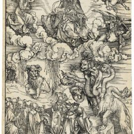 Albrecht Durer-The Beast With Two Horns Like A Lamb, From: The Apocalypse-1497