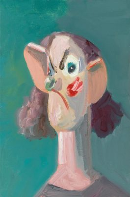 George Condo-Alone With A View-2006