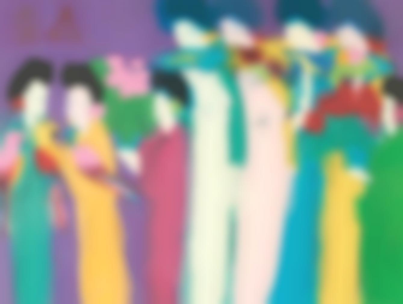 Walasse Ting-Eight Beauties-