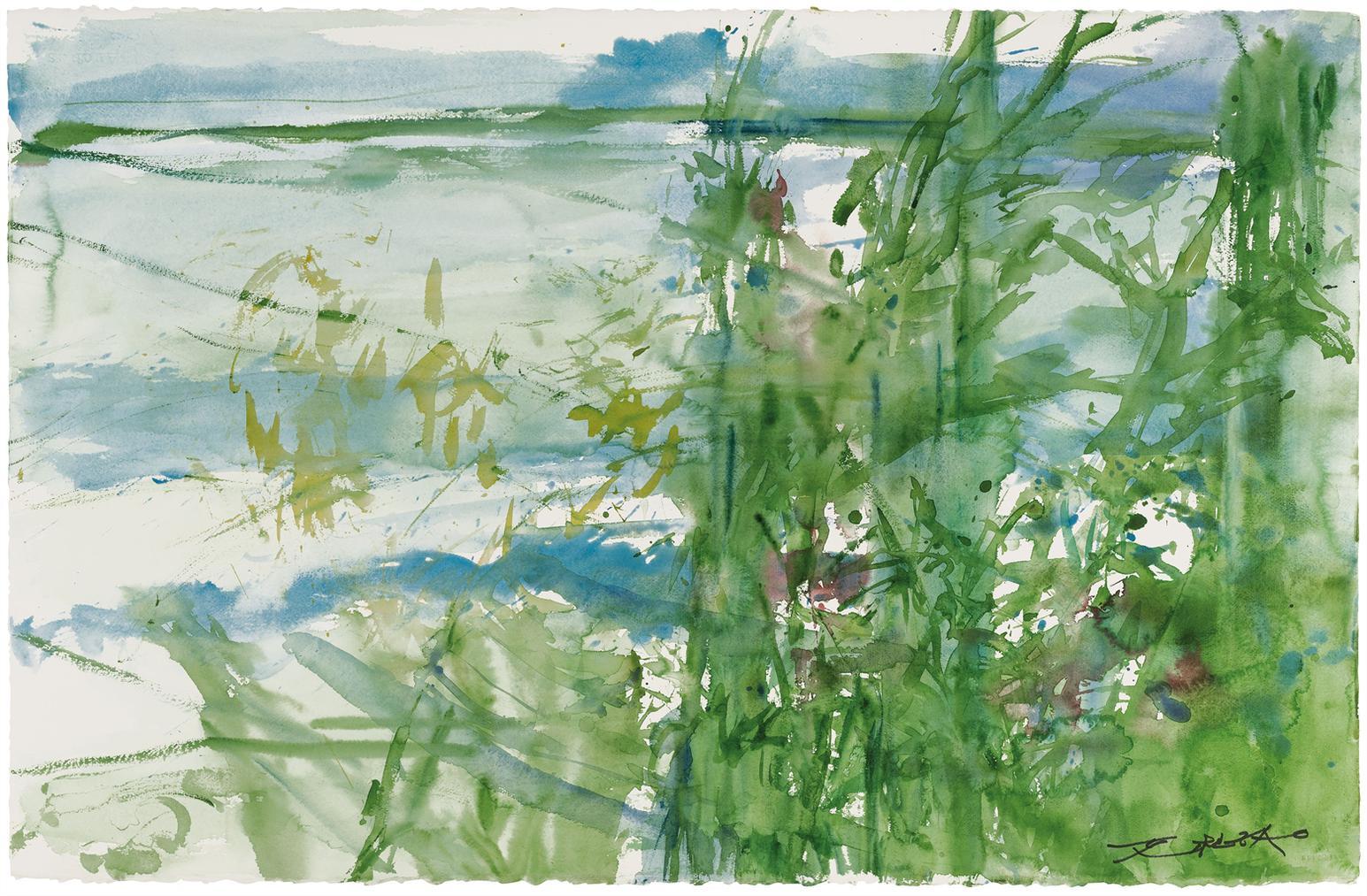 Zao Wou-Ki-Untitled-2007