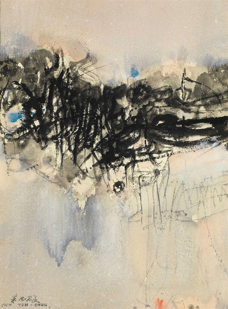 Chu Teh-Chun-Untitled-1960