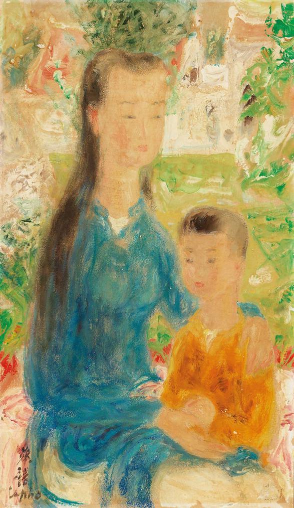 Le Pho-Mere Et Son Enfant-