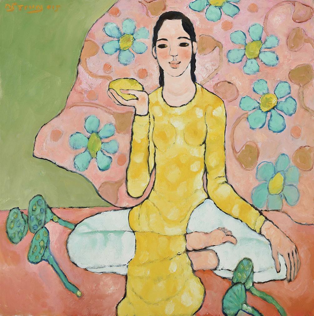 Nguyen Trung-Lady With Mango-2015