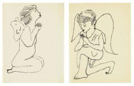 Andy Warhol-Angels-1954