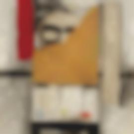 Zhang Xiaogang-Duplicated Space No. 10-1990