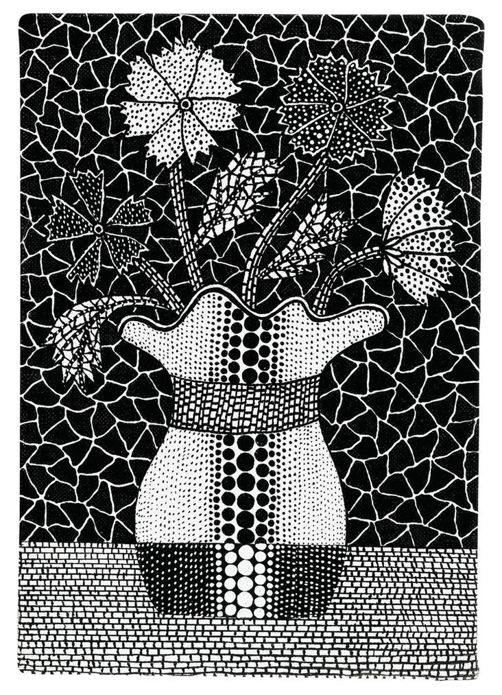 Yayoi Kusama-Flowers-1991
