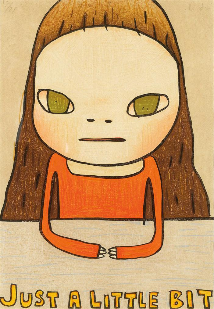 Yoshitomo Nara-Just A Little Bit-2012