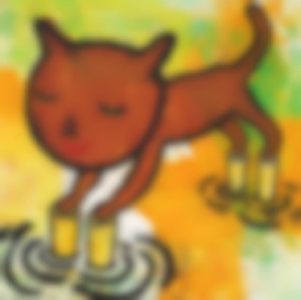 Yoshitomo Nara-Cat-1993