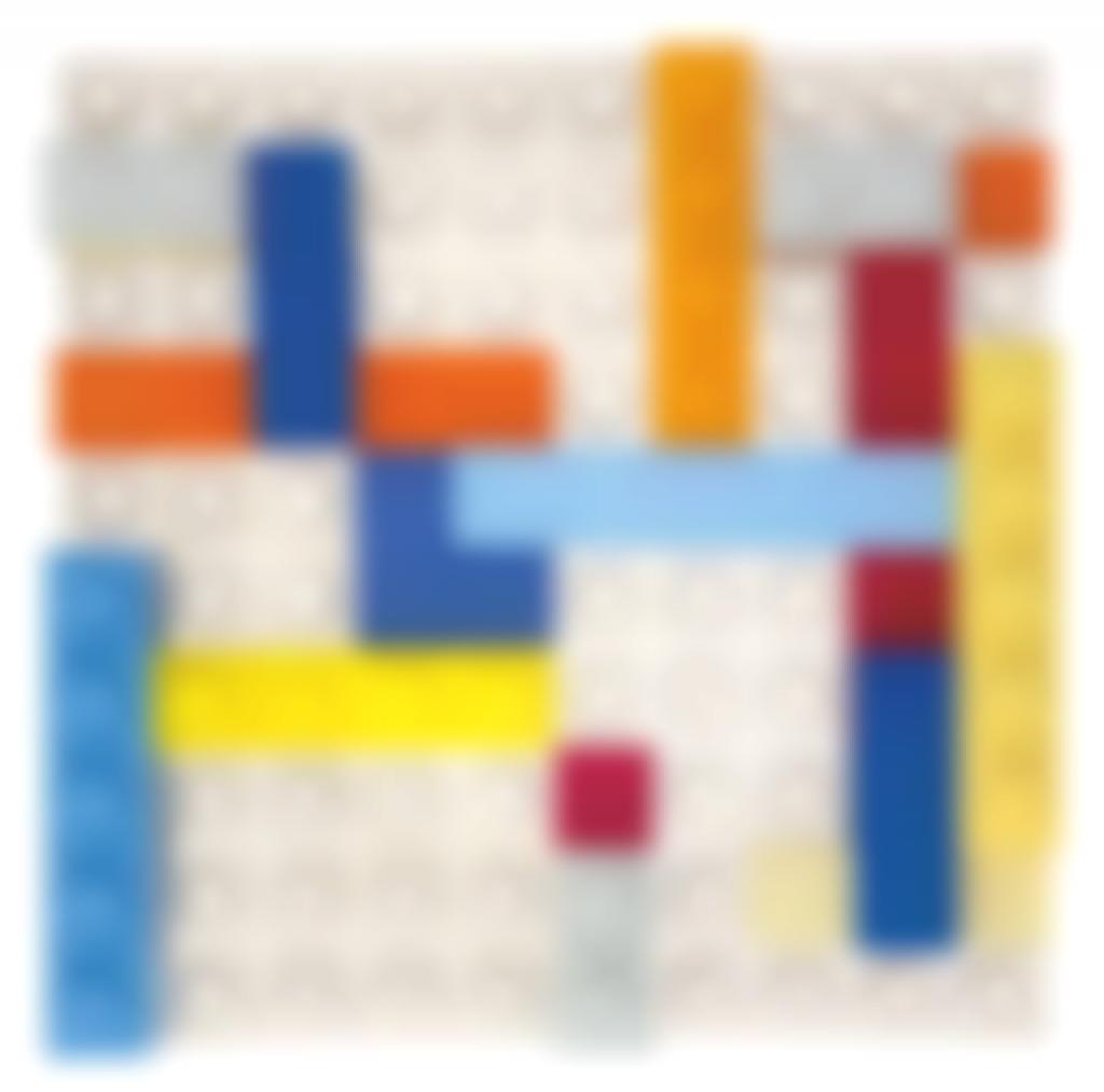 Matteo Negri-Lego Mondrian - Dawn Over Kowloon Bay-2016