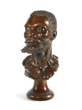 Anton van Wouw-Bust Of A Zulu