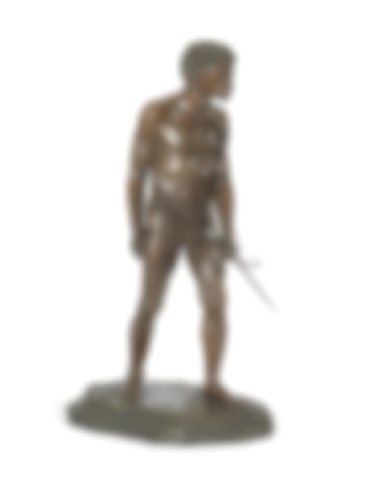 Anton van Wouw-The Bushman Hunter-1902