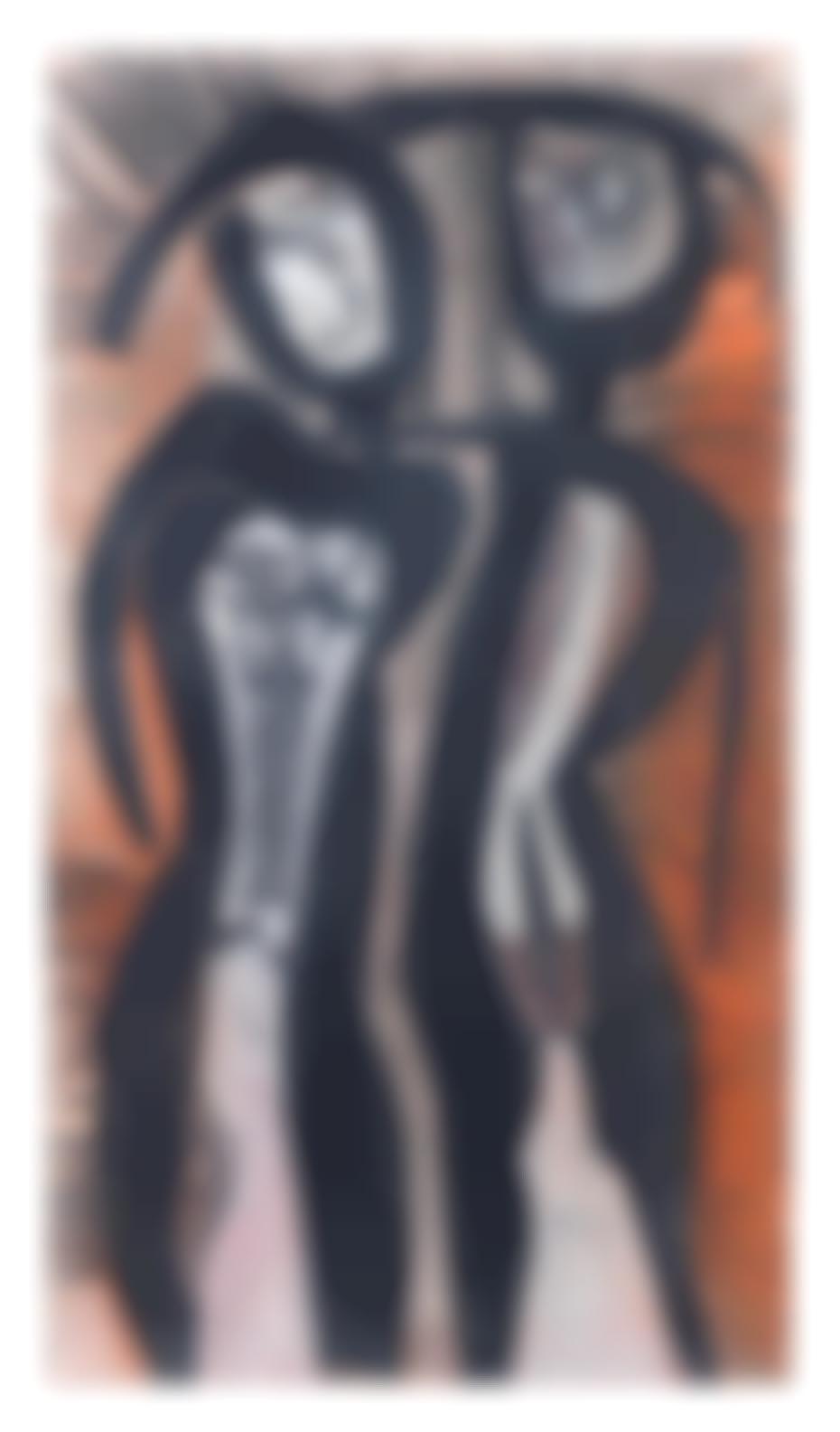 Cecil Edwin Frans Skotnes - A Couple-