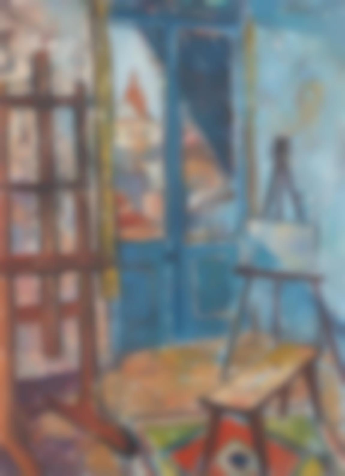 Francois Krige - Artists Studio-1957
