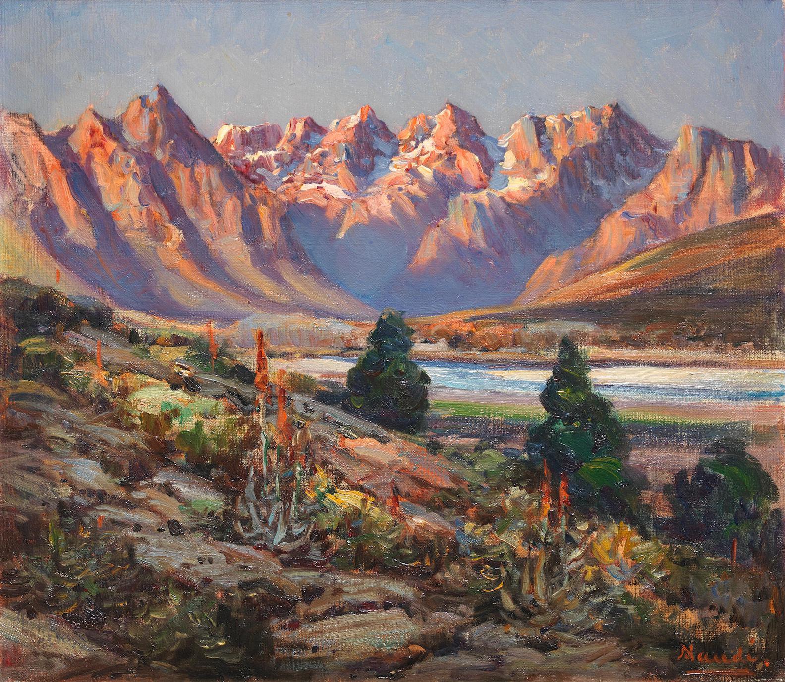 Pieter Hugo Naude - Worcester Mountains-