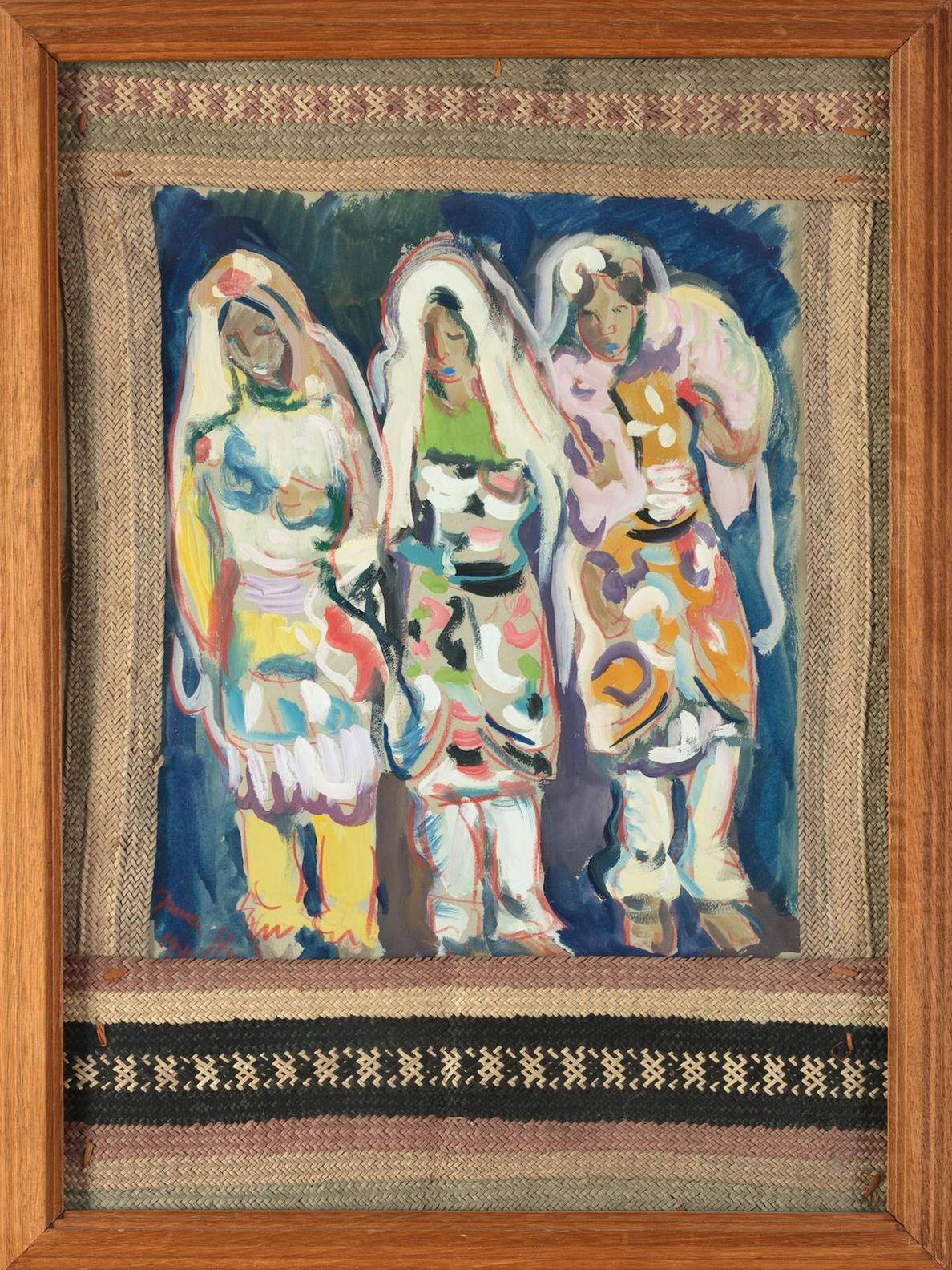 Irma Stern-Three Indian Women-