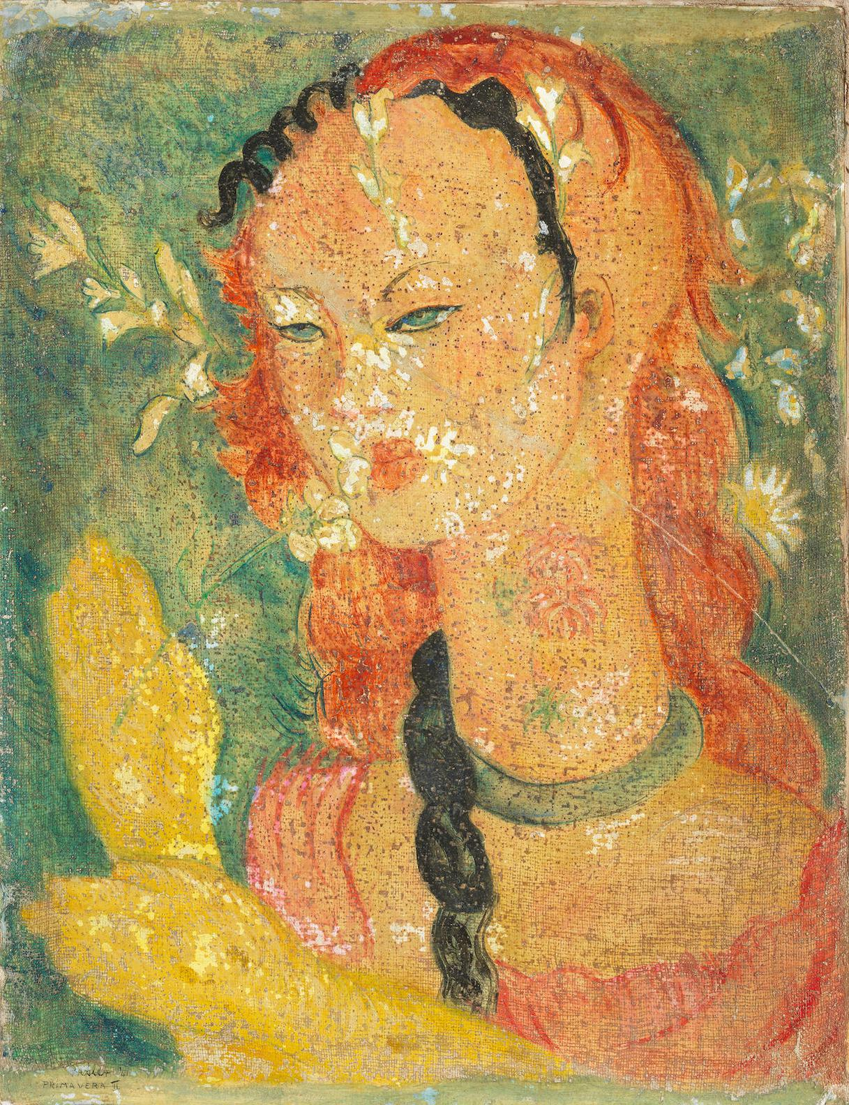Alexis Preller - Primavera II-1941