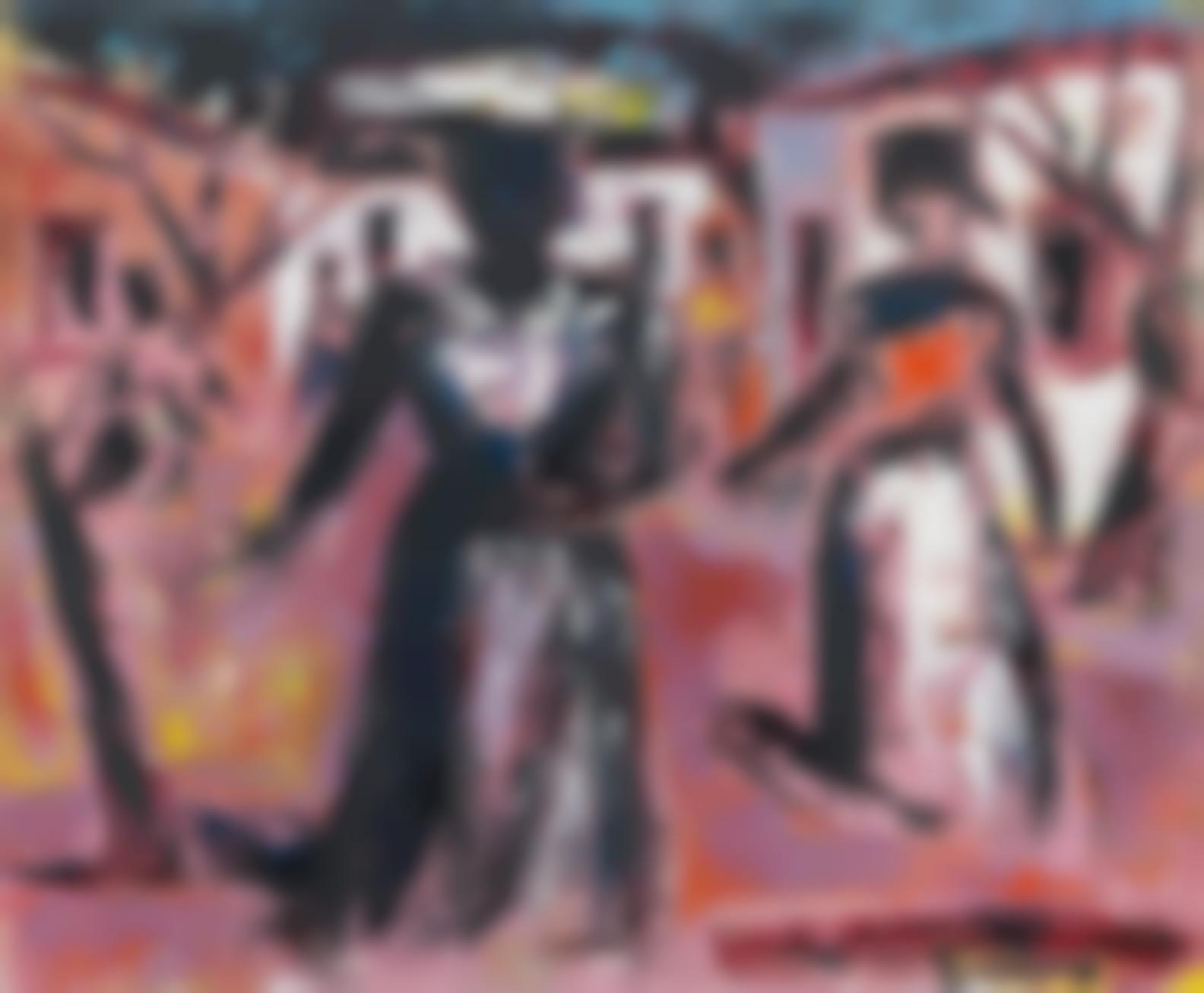 Gerard Sekoto - A Township Street-
