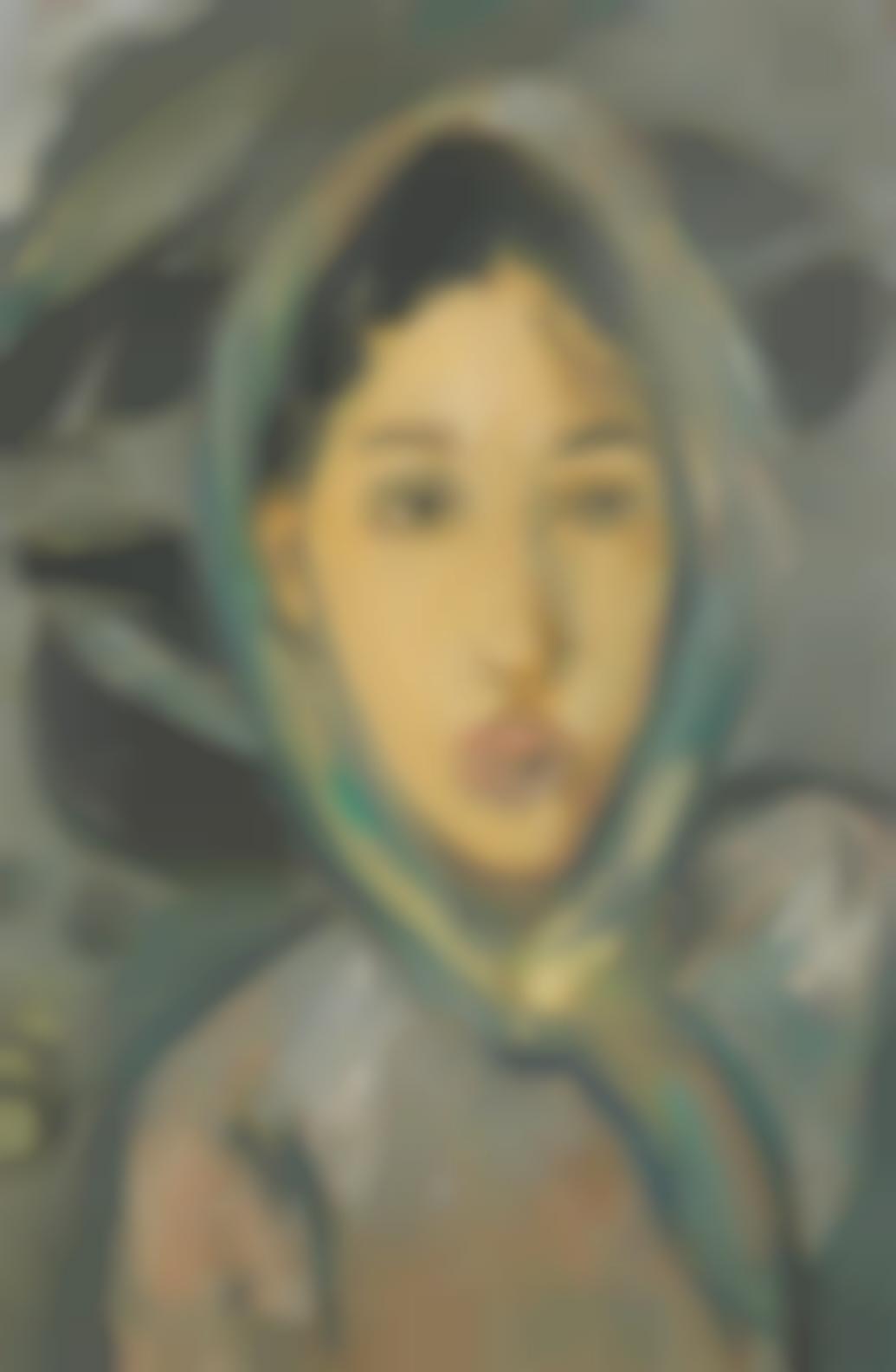 Irma Stern-Fishing Girl-1951