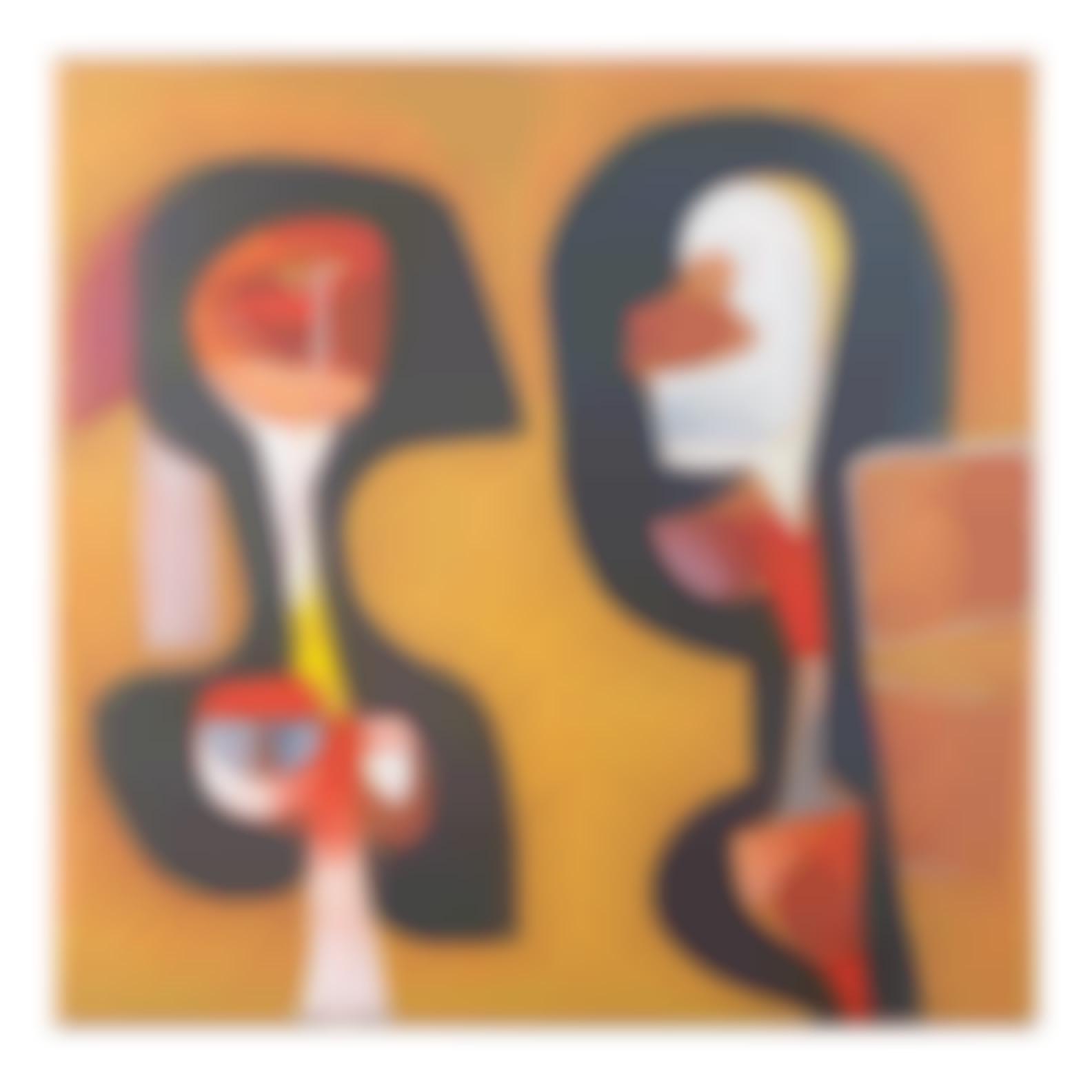 Cecil Edwin Frans Skotnes - Two Figures-