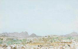 Adolph Stephan Friedrich Jentsch - Seven Landscape Sketches: S.W. Afrika; Sud west afrika; Untitled; Untitled; Untitled; Untitled; Untitled-1959