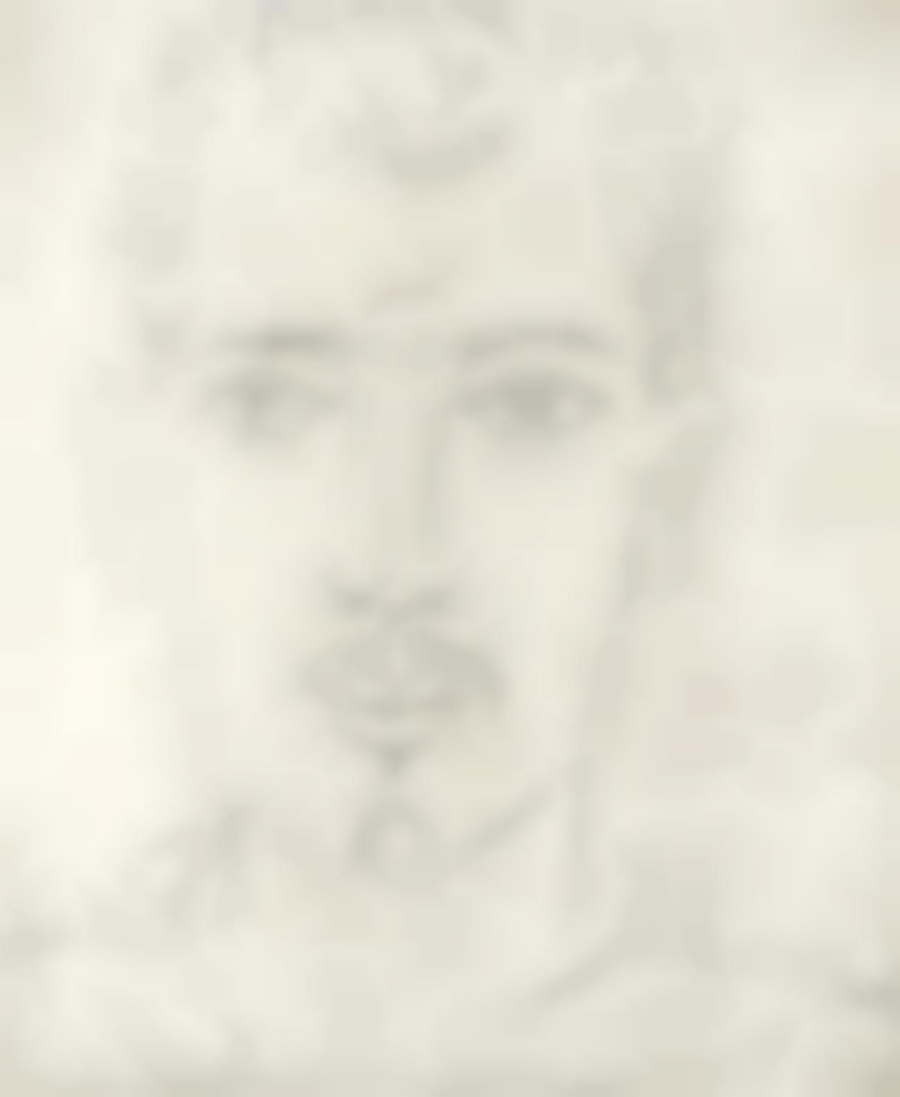 John Craxton - Portrait Of A Man-1989