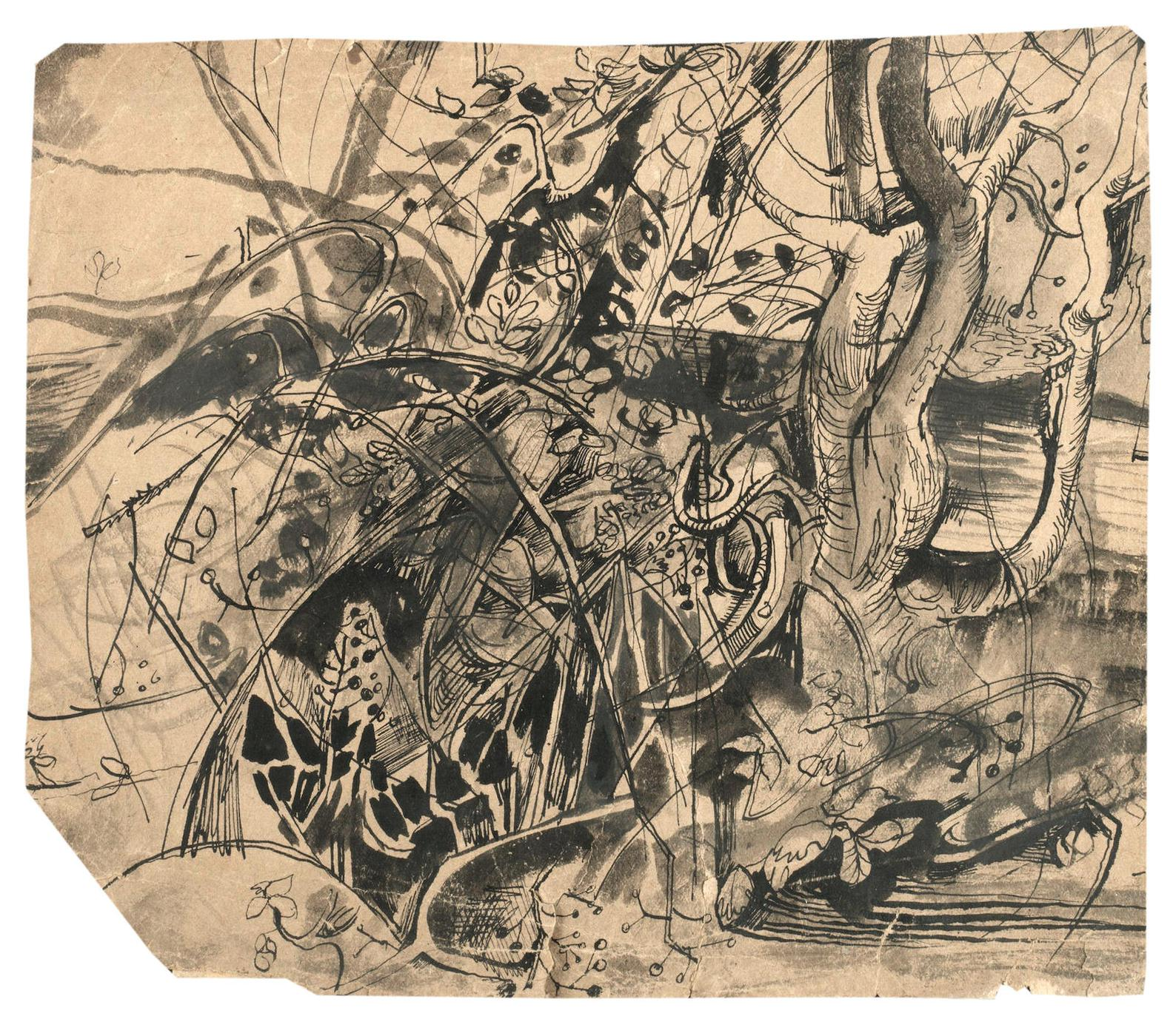 John Minton - A Tangled Undergrowth-