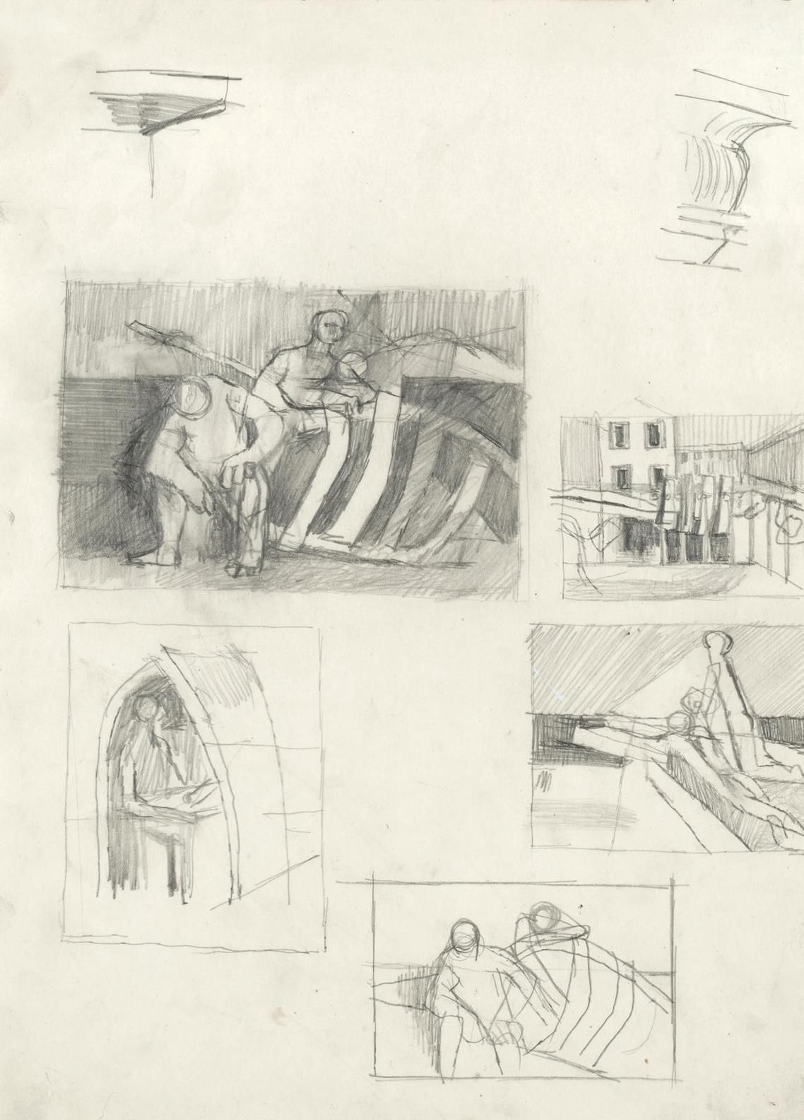 Keith Vaughan - Five Figure Studies-1948