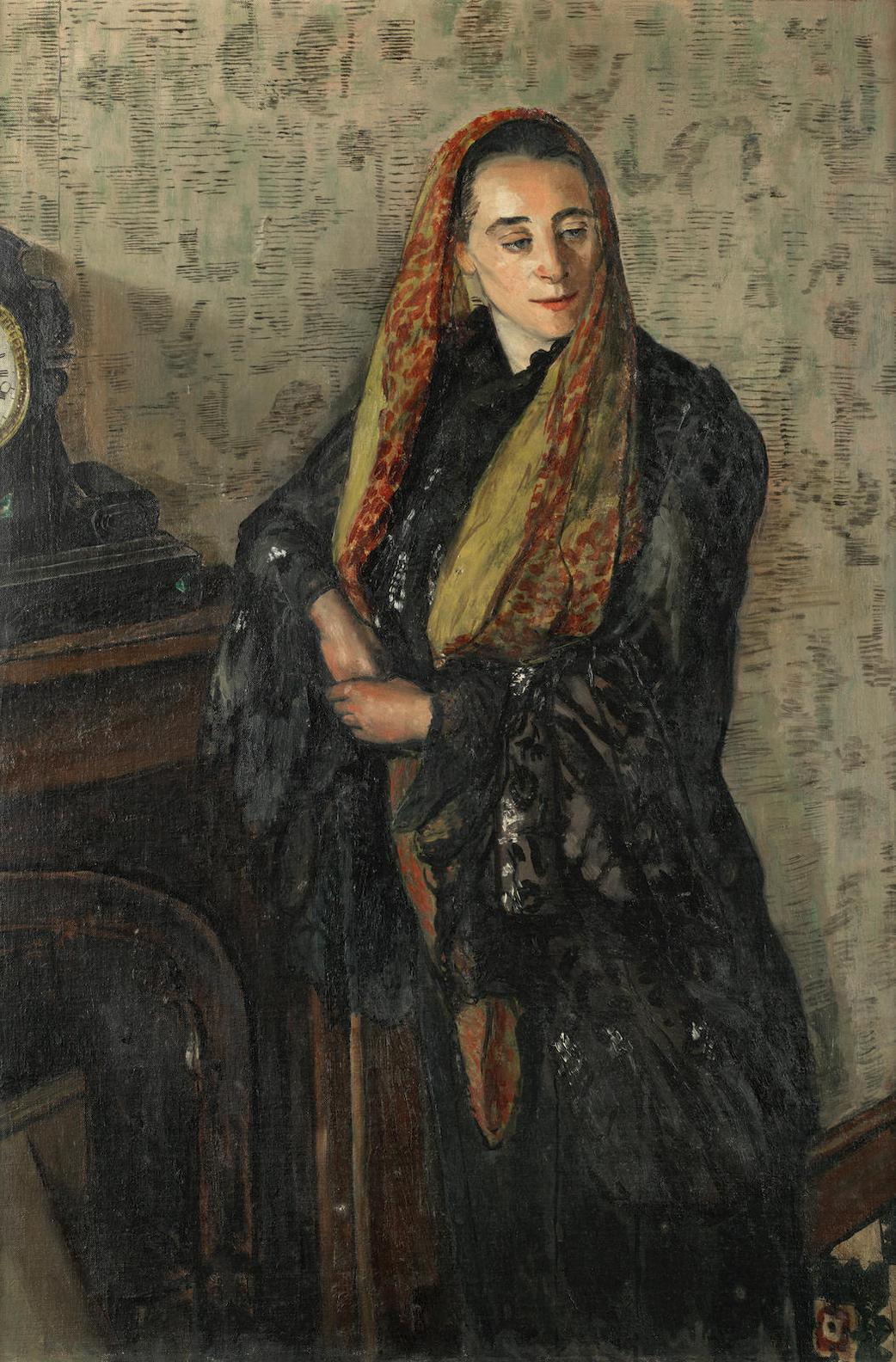 Carel Weight - Helen, The Yellow Scarf-1938