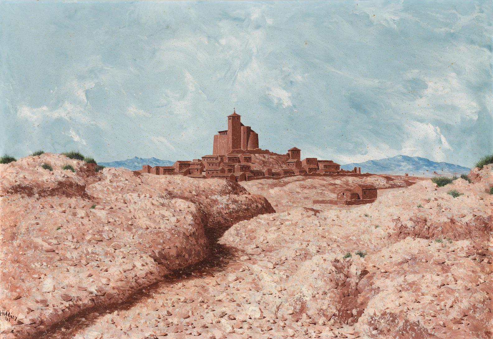 Tristram Hillier - Landscape Near Calatayud-1961