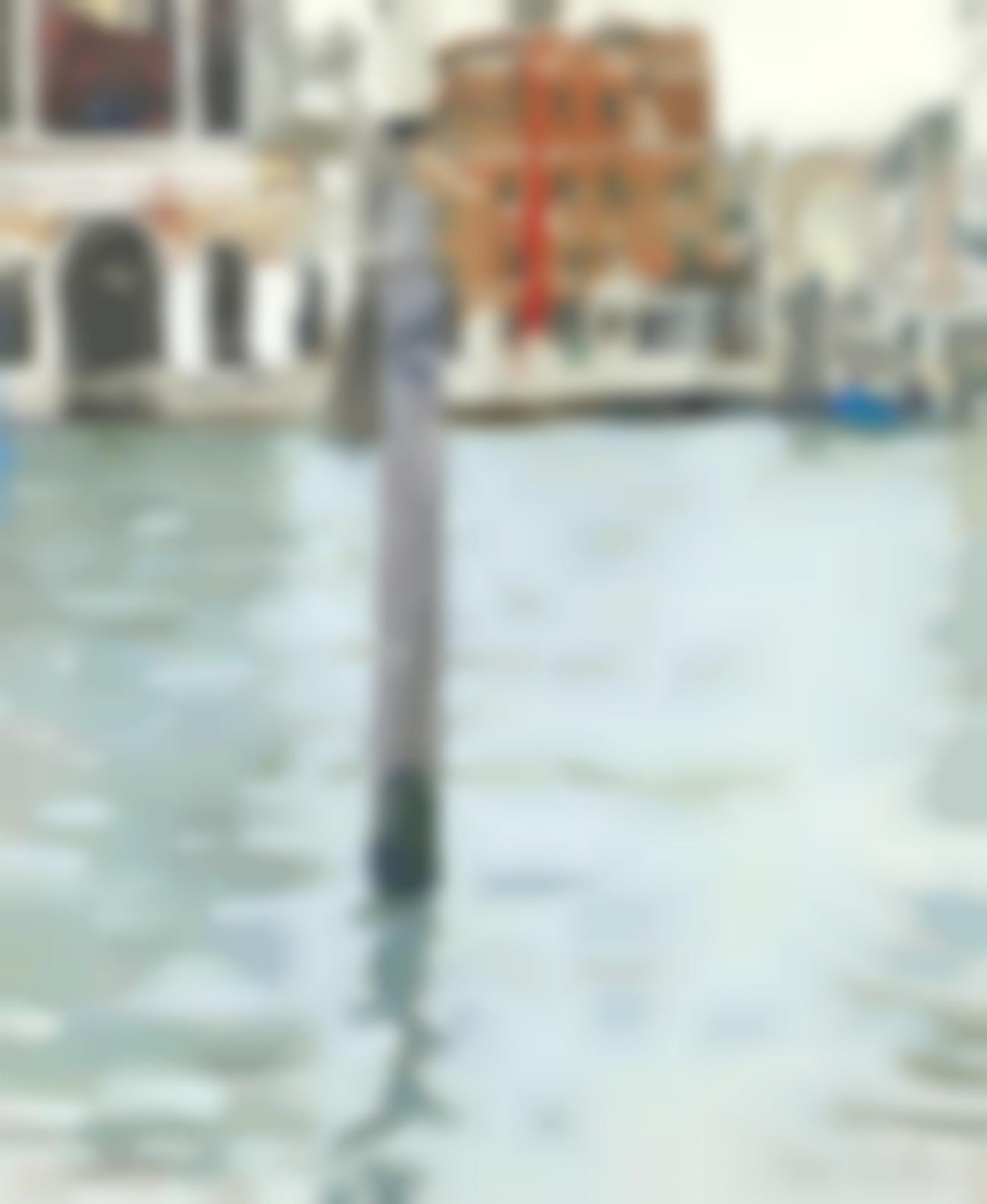Ken Howard - Canal Scene, Venice-